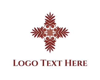 Religious - Tropical Palm  logo design