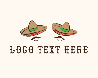 Tequila - Mexican Hats logo design