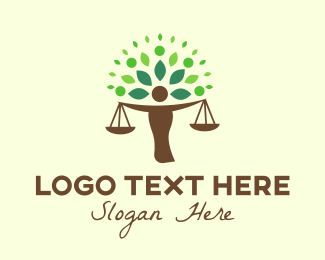 Law Firm - Justice Tree logo design