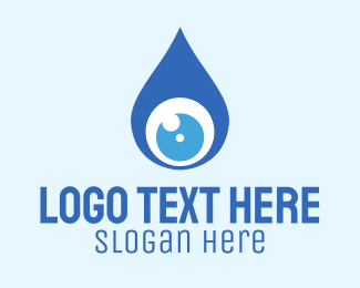 Droplet - Drop View logo design