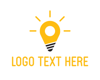 Place - Spot Light logo design