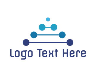 Programing - Blue Tech A logo design