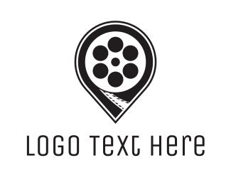 Frame - Reel Point logo design