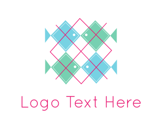 Texture - Fish Pattern logo design