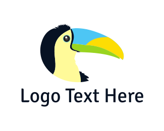 Toucan - Tropical Toucan logo design