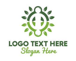 Plant - Human Plant logo design