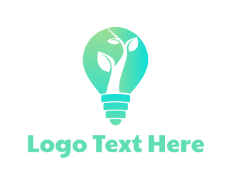 Lighting - Organic Lighting logo design