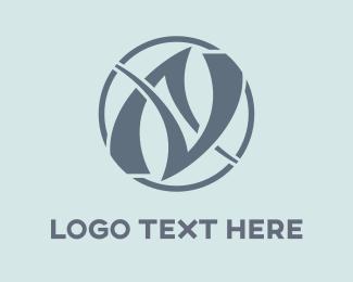 Young - AV Logo logo design