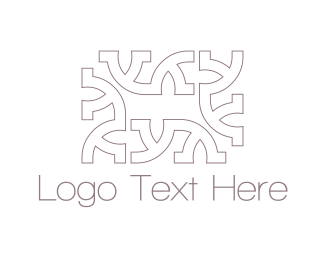 Texture - Rectangle Letter Y logo design