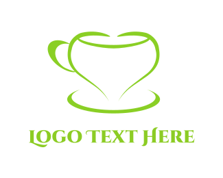 Tea - Love Cup logo design