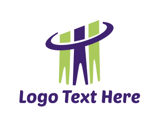 Consulting - Human Chart logo design