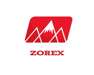 Fashion - Red Mountains logo design