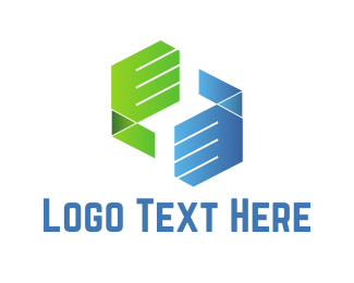 Deal - Dealing Hands logo design