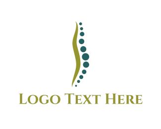 Massage - Chiropractic Spine logo design