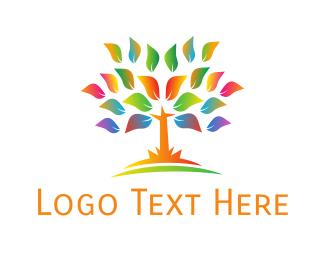 Eco-friendly - Neon Tree logo design