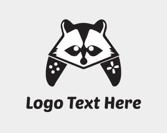 Raccoon - Raccoon Controller logo design