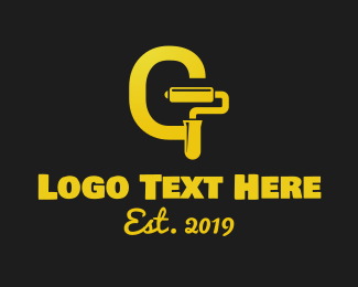Budget - Golden Paint logo design
