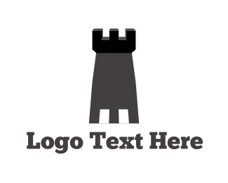 Gray - Grey Tower logo design