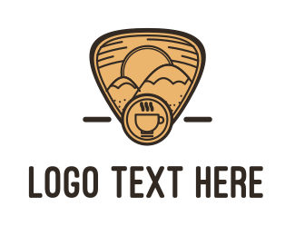Outdoor - Mountain Coffee logo design