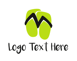 Beach - Beach Sandals logo design