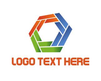 """Colorful Hexagon"" by DanteDesign"