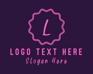 Children - Cute W Emblem logo design