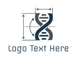 Medical Equipment - Gene Metrics logo design
