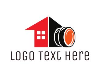 Journalist - Camera House logo design