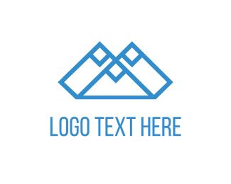 Volcano - Blue Mountains logo design