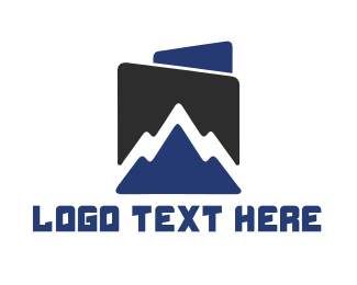 Mountain - Blue Mountain logo design