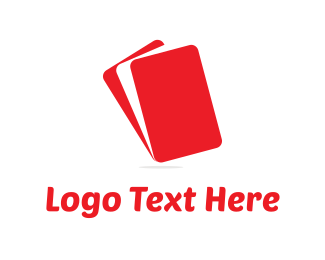 Smartphone - Red Layers logo design