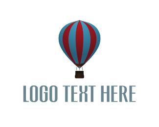 Ride - Balloon Ride logo design