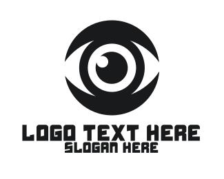 Eyeball - Black Eyeball logo design