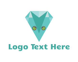 Diamond - Owl Diamond logo design