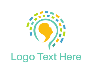 Bright - Bright Mind logo design