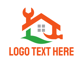 Maintenance - Toolbox House logo design