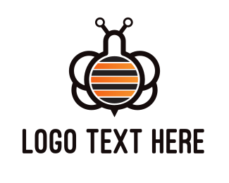 Experiment - Lab Bees logo design