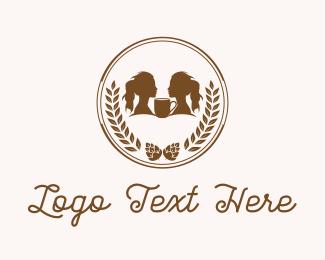 Beer - Coffee Coin logo design