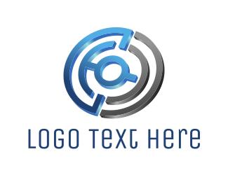 Labyrinth - Tech Maze logo design