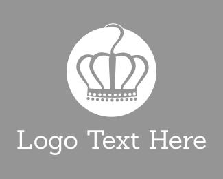 Clothes - Queen Crown Circle logo design