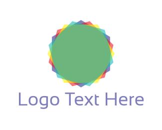 Rotate - Colorful Circle logo design