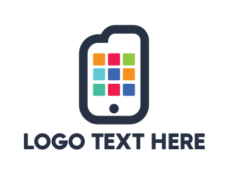 Mobile App - Document App logo design