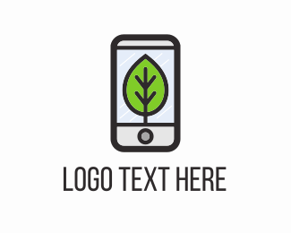 Smartphone - Eco Phone logo design