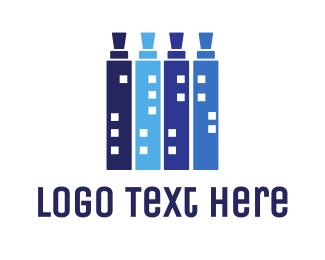 Ejuice - Vape City logo design