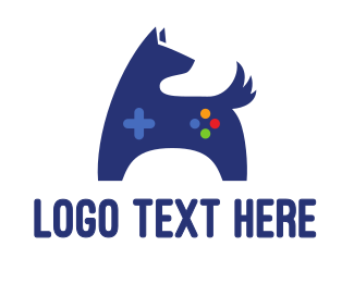 Nintendo - Blue Dog Gaming logo design