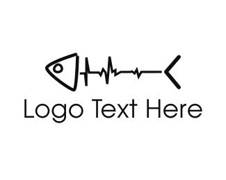 Dead - Fish Pulse logo design