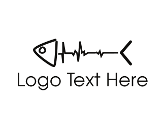 Dead - Fish Pulse logo design