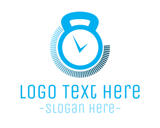 Gym - Gym Timer logo design