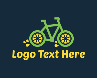 Juice Bar - Lemon Bike logo design