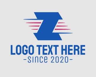 """""""Blue Letter Z"""" by SimplePixelSL"""